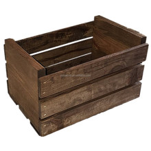 wholesale high quality paulownia packing wood box with lid/rope handles cheap pine wooden gift boxes