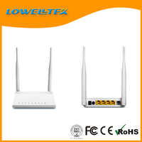 300Mbps Wireless 1WAN 4LAN ports ADSL2+ Modem router with undetachable antenna,adsl 2 modem router/