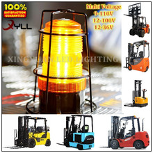 Amber led strobe beacons,forklift emergency warning lights for sale