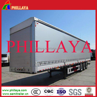 40' Length (feet) and Dry Container Type 40ft Dry Van used new shipping container with chassis