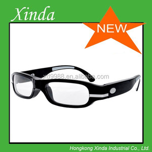 Stylish 12MP camera sunglasses Playing Speed 25fps , lenses can change for the short sightedness