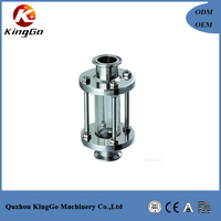 Stainless steel 304 and 316L tank boiler sight glass