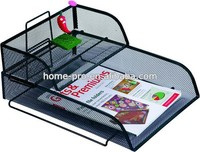 METAL MESH OFFICE STATIONERY SET