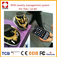 uhf rfid solution for jewelry cabinet management anti theft/inventory