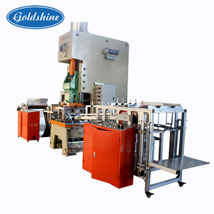 Goldshine Take away aluminum foil food container making machine