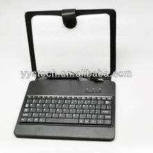10 Inch Case with USB Keyboard,Photo Russo- English Keyboard