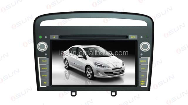 iSun WIN CE 6.0 Touch Screen Car Radio For Peugeot 408 2013 Car DVD Player GPS Navigation android car dvd