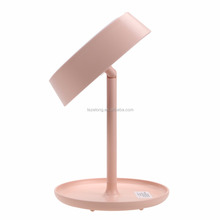 get it beauty Lighted Makeup Vanity Table Mirror with Table Lamp for Bedroom Home Decor