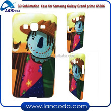 2015 New 3D sublimation phone case for Samsung Galaxy Grand prime G5306,sublimation case,sublimation cell phone case