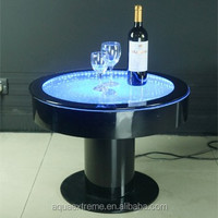 Amazing cocktail Table with led lights,Fantastic water Bubble moving table