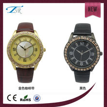 japan movt quartz watch diamond stainless steel High quality watches 2015