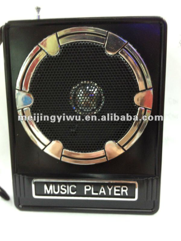 MK-017 bonne qualité radio fm usb lecteur de carte sd haut-parleur - ANKUX Tech Co., Ltd