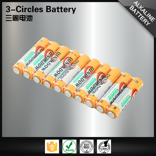 High capacity wholesale am4 aaa size 1.5v alkaline battery