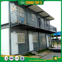 Modular Flexible Solar Temporary Living Prefab Container Home Dormitory Labpur Camp