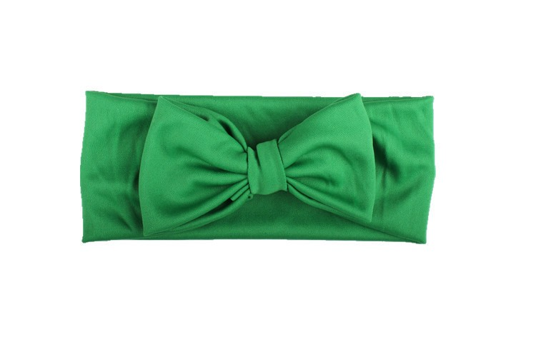 Multicolor Comfortable Elastic Cloth Children Bowknot Hair Band Baby Headband
