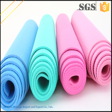 Popular style pvc yoga mat made in china