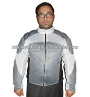 Bike Rider's Fashion Jacket with Protection Pads