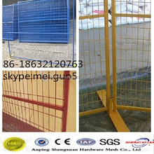 Best Price 2400x2100mm Canada Temporary Metal Fence Panels ( For Building Sites Hot Sale )