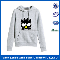 Imported Ink Owl Animal Ears Hoodie for women