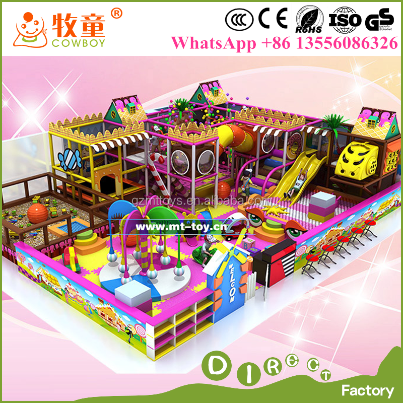 Plastic and PVC Material Soft Interior Playground toddler indoor playground equipment for toddlers