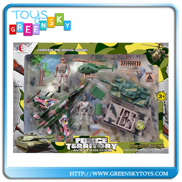 Plastic Military Child Toys Army