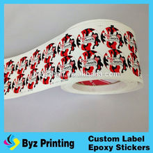 DIGITAL PRINT large number stickers sound music activated car stickers