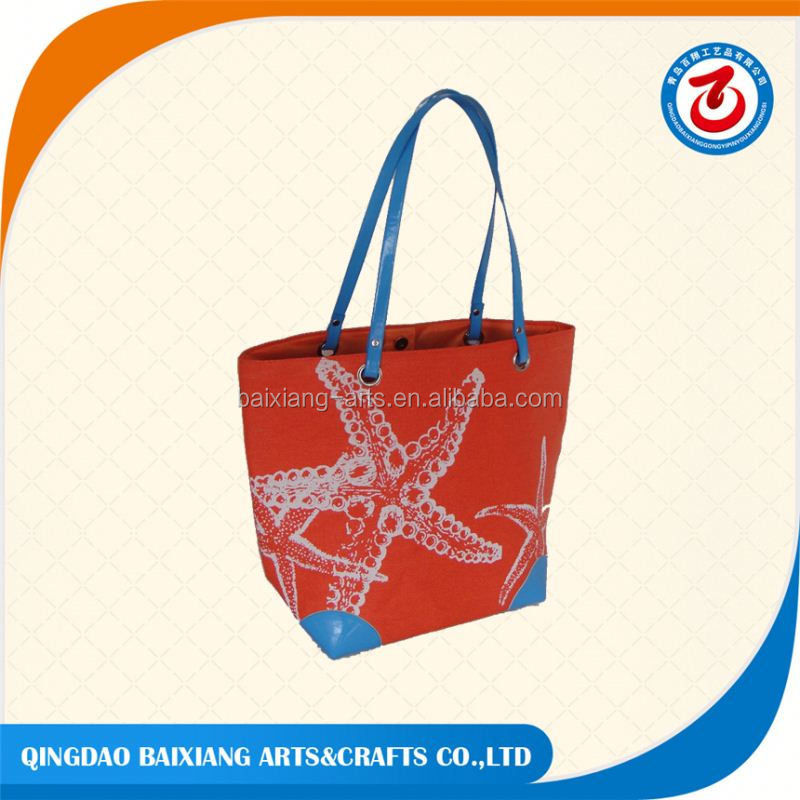 promotional trendy beach straw tote bag