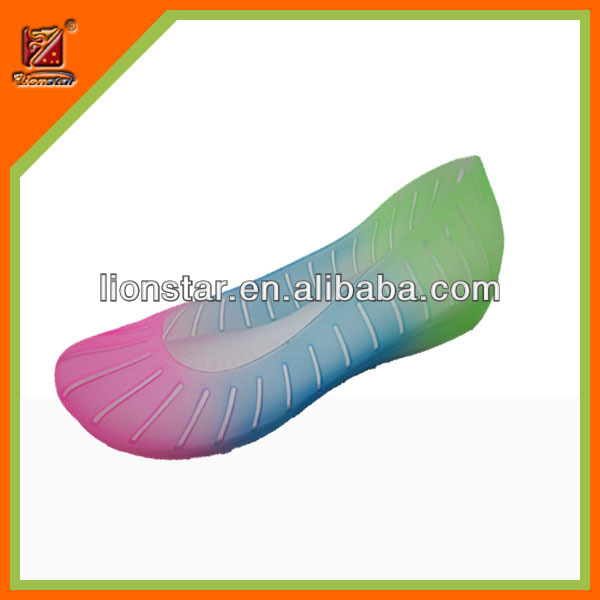 latest fancy jelly design fashion 2014 women' shoe