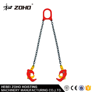 CE Standard Low Carbon Steel Oil Drum Lifting Clamp
