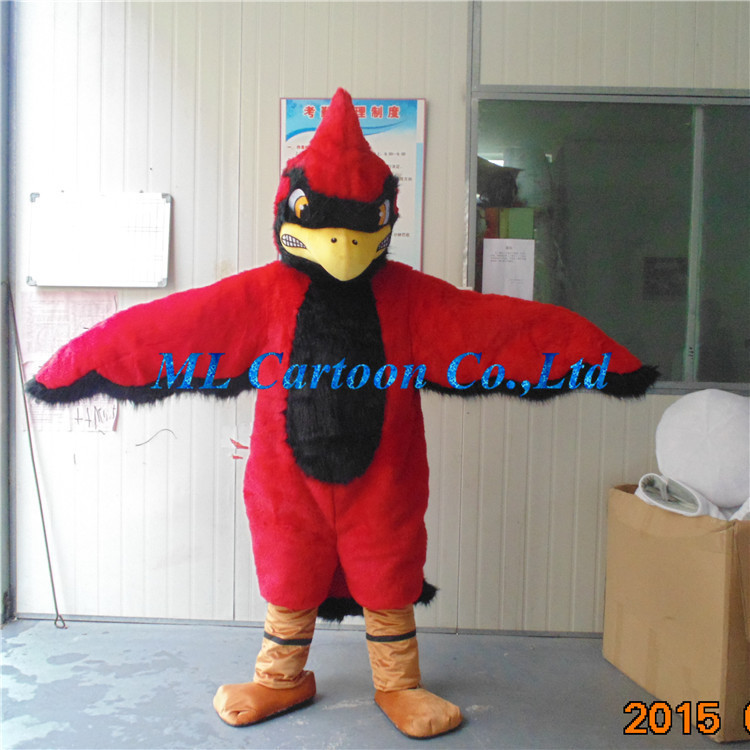 2015 fashion Red eagle funny cartoon costumes cartoon character mascot costumes