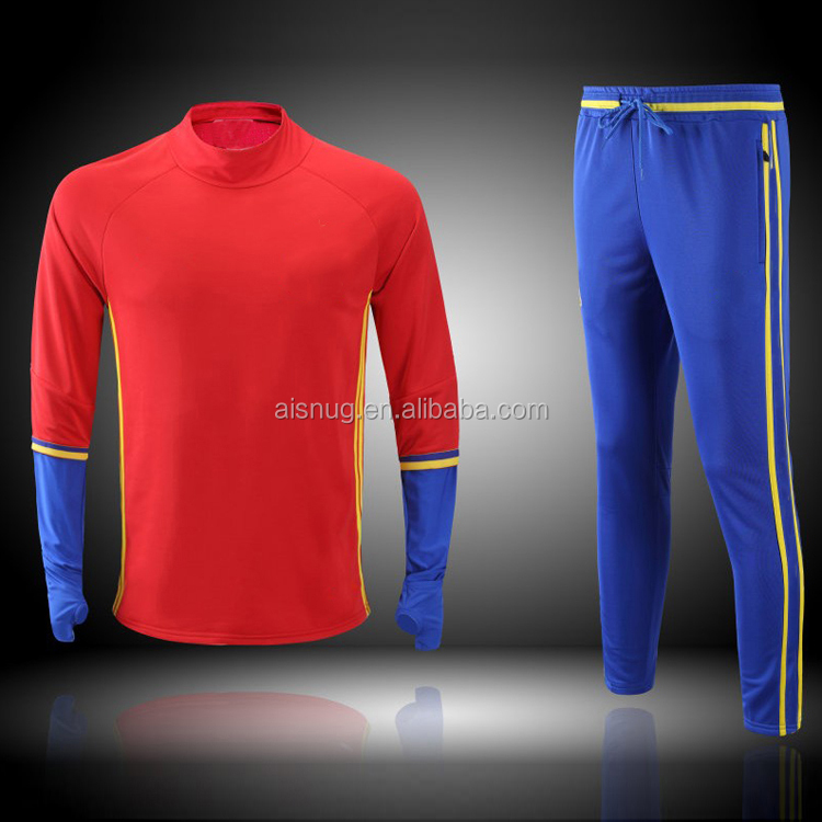 2016 version of the Spanish football training suit