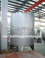 1-2T Raw Water Tank For Drink Water/Juice/Carbonated Drink Filling Machine
