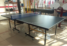 factory used indoor ping pong table MDF table tennis robot for sale