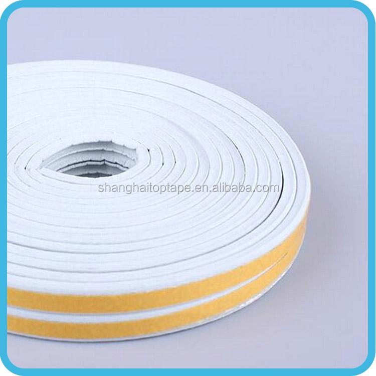 Chinese low price die cutting window foam silicone rubber seal strip