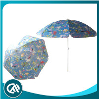 TNT with fishing printing kid small beach umbrella
