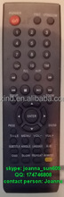 TV REMOTE CONTROL MODEL GEANT CONTINENTAL, FOR ALGERIA MARKET, ANHUI FACTORY, TIANCHANG MANUFACTURER