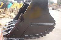 China heavy machine best price DH500 excavator spares parts of rock bucket