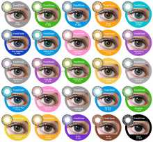 HOT selling 25 colors FreshTone Romance colored contact lenses cheap cosmetic korean contact lens wholesale
