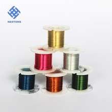 Wholesale diamond cutting aluminum wire 2 mm in 10 m rings
