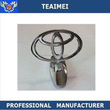 High Quality Custom Car Logo Stand Up Emblem For Toyota