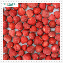 Green frozen strawberry IQF with variety AM13 and size:20~40mm