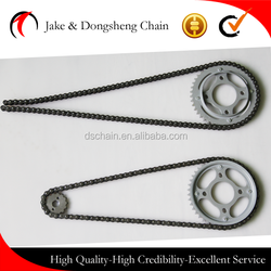 China manufacturer bajaj pulsar 135, motorcycle chain, 428 motorcycle chain sprocket