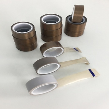 Manufacturer supply attractive and durable brown ptfe film tape 2 inch