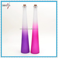 Tall Slim Vase Wholesale Purple Glass Vases Cheap Wholesale With Screw Metal
