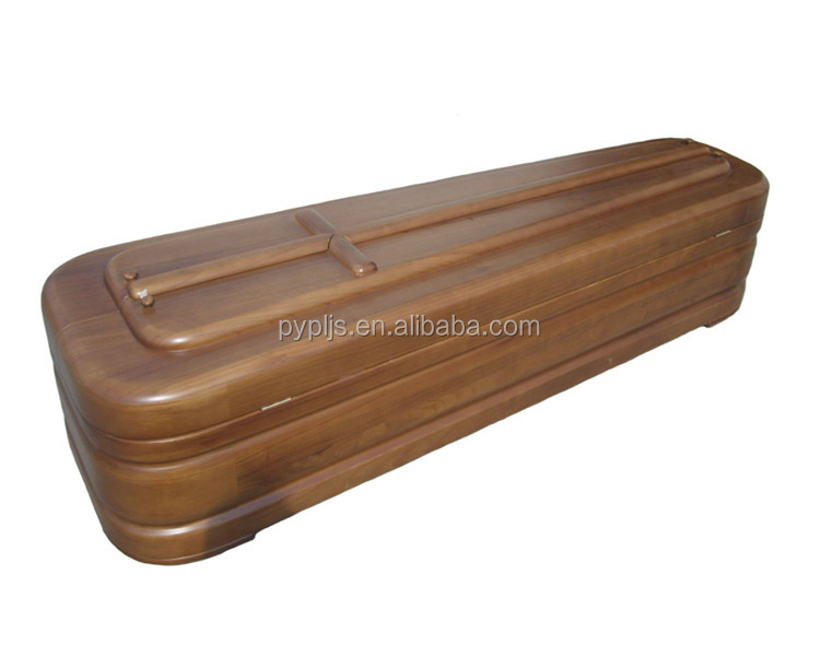 wood coffin wholesale