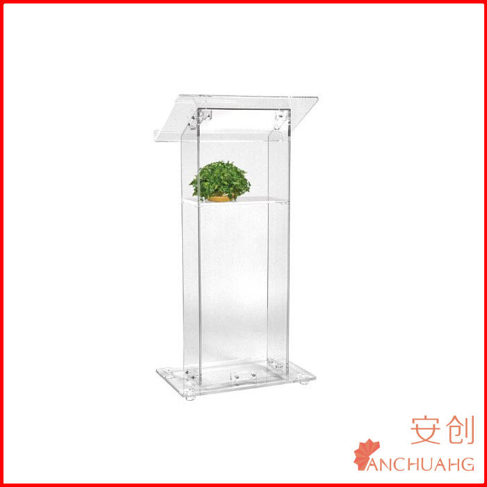 organic glass pulpit