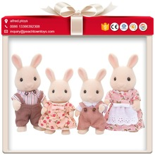 Famous soft stuffed animal toy sylvanian families
