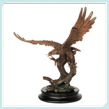 Large bronze eagle statue decorative sculpture