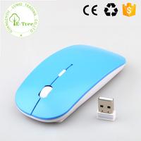 Ergonomic Ultrathin Bluetooth 2.4G Laser USB Wireless Optical Mouse For Desktop Notebook Laptop PC