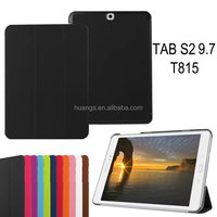 High quality Tablet case cover super slim folio leather case for samsung galaxy tab s2 9.7 tabet case china price